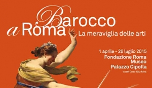 Mostra Barocco a Roma - locandina