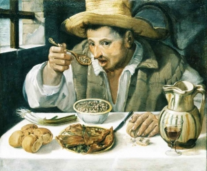Annibale Carracci (1560-1609) The Bean Heater