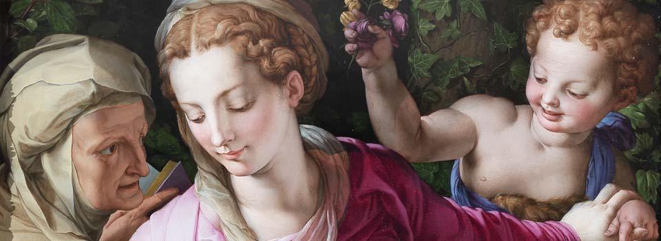 Bronzino-Madonna-con-Bambino-sala-della-Apoteosi