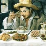 Annibale Carracci (1560-1609) El comedor de judías