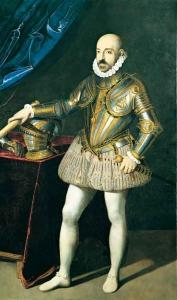 Marcantonio II Colonna ( 1535-1584) Kommandant der Päpstlichen Flotte in der Seeschlacht von Lepanto
