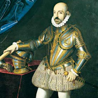 Marcantonio II Colonna ( 1535-1584) Commander of the Popal Fleet at the Lepanto Battle