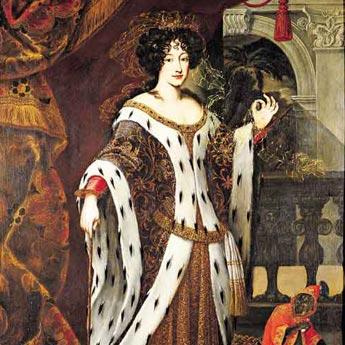 Maria Mancini Colonna ( 1639-1716 ) Nichte des Kardinals Mazarin