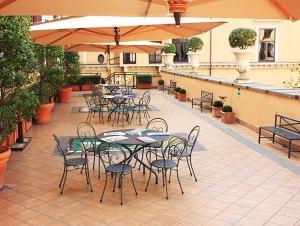 Terrasse Garten Innen