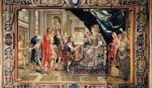 Artemisia, la regina esamina il progetto del Mausoleo