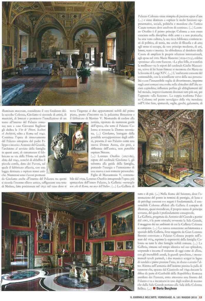 Il Giornale dell'Arte, maggio 2016, pag 2