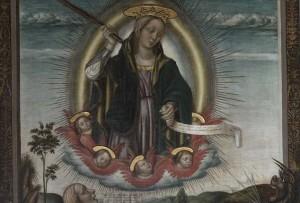 Madonna del Soccorso di Nicolo Alunno