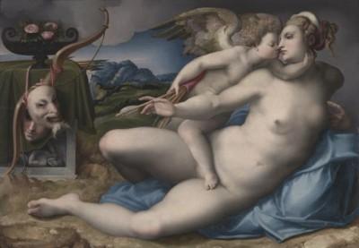 Michele-di-Ridolfo-del-Ghirlandaio-Venere e Amore-news
