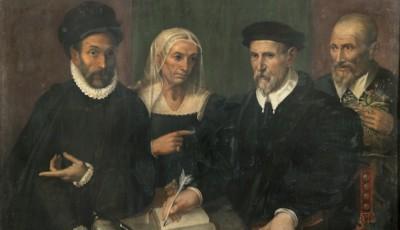 Bartolomeo Passerotti - Ritratto della famiglia di Ludovico Peracchini-news