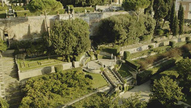 El Jardín Colonna En El Quirinal Palacio Colonna